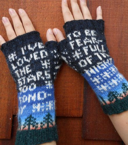 I've Loved the Stars Mitts - Janine Bajus